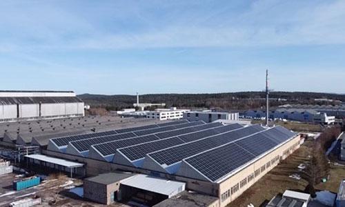 Ilmenau photovoltaic system, Thuringia / Germany